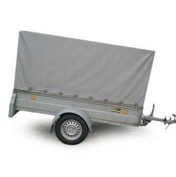 Prívesný vozík s plachtou